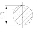 """Picture of Manway Gasket for 20"""" MC-D2, MC-D3, MC-D13, MC-D26."""