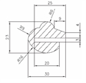 Picture of Manway Gasket for MC-A2, MC-A4, MC-A17, MC-A18